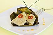 Tamales (gefüllte Maisblätter, Südamerika)