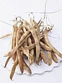 Dried runner beans