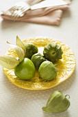 Tomatillos (Mexican green tomatoes)