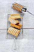 Spagatkrapfen (Austrian doughnuts)