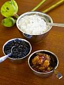 Chutneys and raita, India