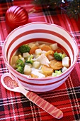 Fish soup for childen (Christmas)