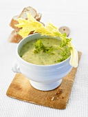French herb soup
