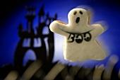 Halloween biscuit (ghost)