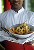 Ayurvedic cuisine: spicy carrot curry (Sri Lanka)