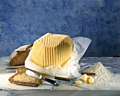 Butter, buttered bread and sea salt