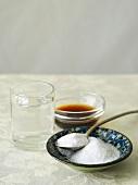 Sugar, sake and soy sauce (Japan)