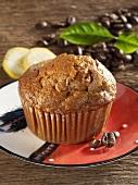 Bananen-Kaffee-Muffin