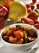Classic Rumtopf (fruit preserved in rum and sugar)