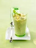 Gooseberry buttermilk smoothie