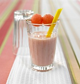 Vanilla and watermelon smoothie