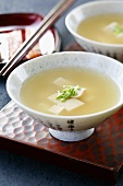 Japanese shiro miso soup