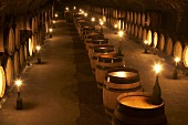 Wine cellar in Nuits-Saint-Georges, Burgundy