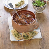 Cassoulet with pork and duck (France)
