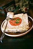 Maca Serowa (Savoury cheese tart, Poland)