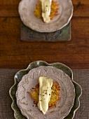 Potato rösti with Vacherin cheese