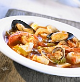 Pacific fish stew