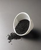 Dish of black cumin