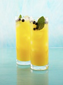 Jamaica Breeze (made with rum, banana liqueur & pineapple juice)
