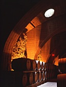 Wine cellar of Mission Hill Winery, British Columbia, Canada