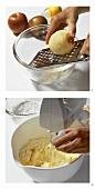 Apfelkuchen aus Rührteig zubereiten