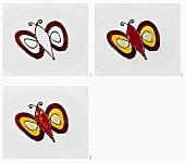 Fruchtspiegel (Schmetterling) herstellen