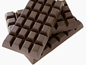 Drei Tafeln Schokolade