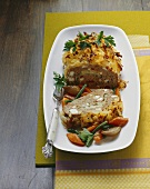 Meatloaf with potato crust