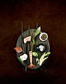 Fish fondue