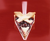 Crostata di ciliegie (Cherry tart with lattice crust, Italy)
