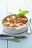 Tomato and aubergine bake