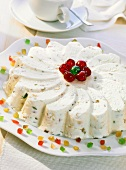 Cassata margherita (Ice cream dessert with candied fruit)
