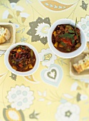 Vegetarian chilli with soya mince
