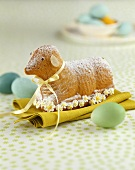 Sweet baked Easter lamb