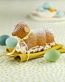 Sweet baked Easter lamb