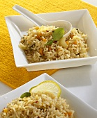 Brown fragrant rice