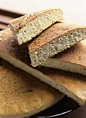 Sesame bread and aniseed bread (Morocco)