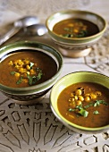 Moroccan Ramadan soup (with chick-peas and lamb)