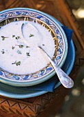 Hsoua (Moroccan milk soup)
