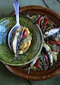 Sardine tajine (Morocco)