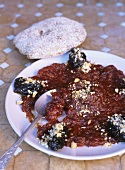Tomato confit with prunes (Morocco)