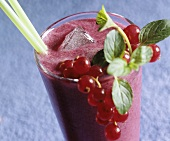 Berry whey shake