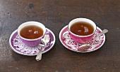 English Earl Grey tea