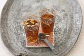 Syrian anise tea with walnut