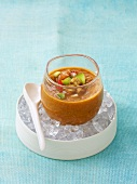 Gazpacho (Andalusian vegetable soup)