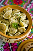 Ushka (Filled pasta, Ukraine)