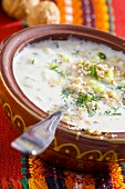 Tarator (Cold yoghurt & cucumber soup with walnuts, Bulgaria)