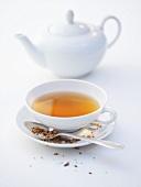 A cup of Darjeeling tea