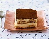 Tiramisù (Layered dessert made with mascarpone & sponge fingers)