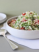 Tabbouleh (Middle Eastern bulgur salad with parsley)